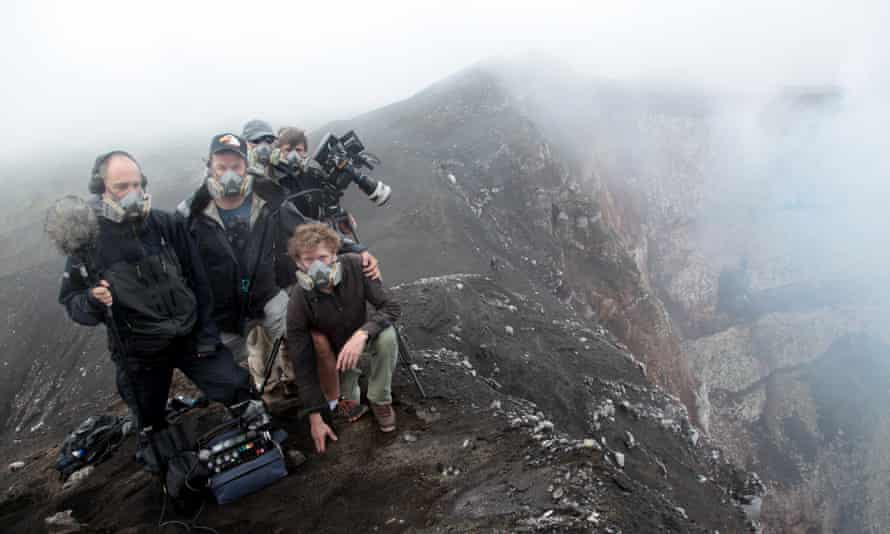 Werner Herzog: 'It is a fire that wants to burst forth and it could not care less about what we are doing up here.'