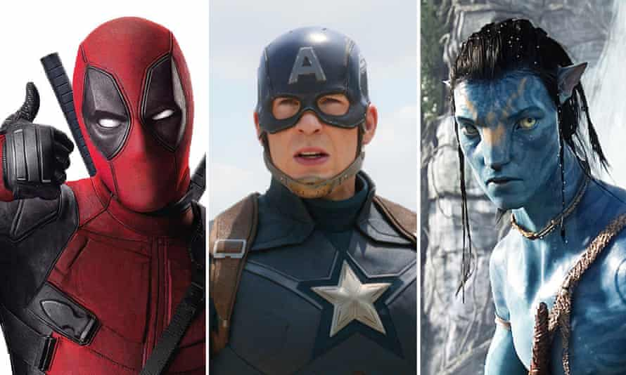 Deadpool, Captain America and Avatar. The Captain America Meeds the Predator sounds tanatalizing, but the focus must remain on predators and Americans.