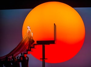 Sun worship … ENO's production of Akhnaten by Philip Glass.