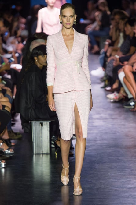 Baby pink … The Altuzarra 2015 spring/summer show referenced Anthea Sylbert's costumes for the 1968 film Rosemary's Baby.
