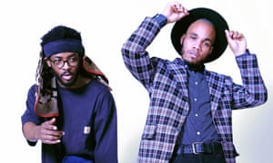 'The perfect match': Knxwledge, left, and Anderson .Paak, aka NxWorries: