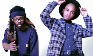 Knxwledge and Anderson .Paak joined forces to form NxWorries.
