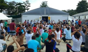 Refugees and asylum seekers are refusing to leave the now closed Manus Island detention centre because they fear for their safety in the community.