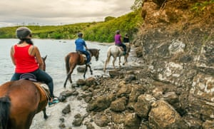 Go horse riding with real cowboys at Le Ranch du Carré 9.