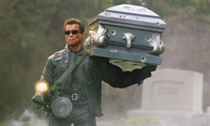 It absolutely will not stop, ever … Arnold Schwarzenegger in Terminator 3: Rise of the Machines.