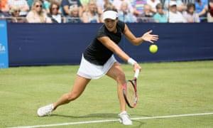 Tatjana Maria at a tournament in Southsea.