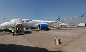 The US has complained that Bombardier has dumped its C Series jets at 'absurdly low' prices.