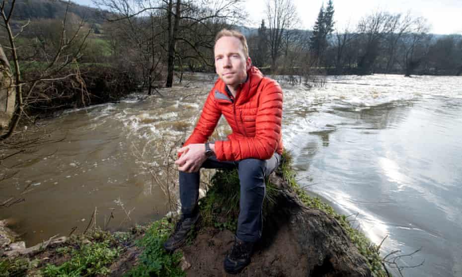 Johnny Palmer, owner of the river island at Warleigh Weir near Bath.