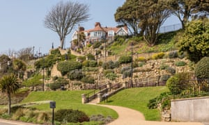 Felixstowe terraced gardens