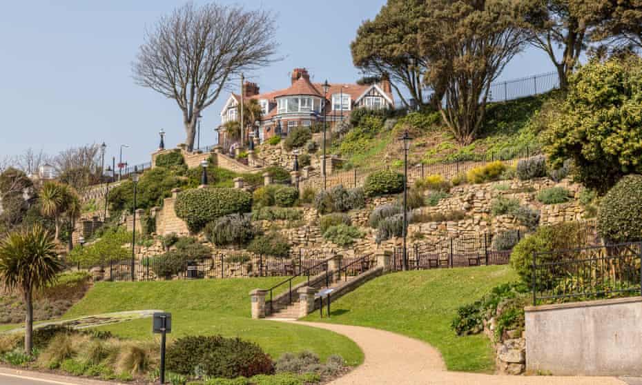 Felixstowe terraced gardens