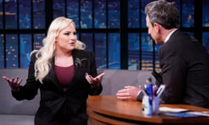 After Meghan McCain appeared on Late Night with host Seth Meyers, her husband took to Twitter to lambaste the host.