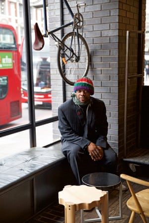 Jude Nwimo portrait from the book Voices: East London by Maryam Eisler.