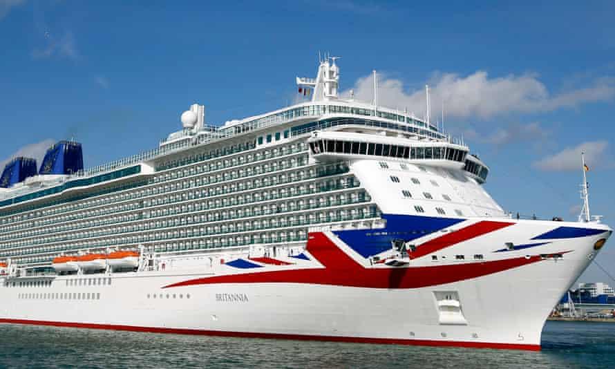 P&O's Britannia cruise ship.