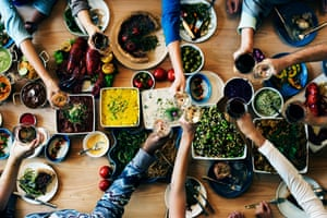 Many centenarians in Genoa eat a healthy diet full of fresh vegetables.