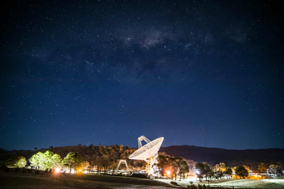Night sky at Tidbinbilla