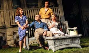 Jemima Rooper, far left, with David Suchet, Stephen Campbell Moore and Zoë Wanamaker in All My Sons in 2010.