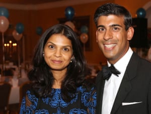 Rishi Sunak and wife Akshata Murty at the 60th anniversary of the Friends of the Friarage.