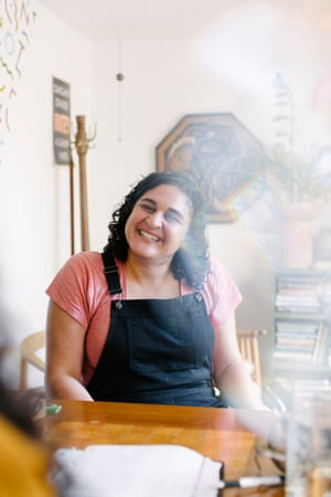 Samin Nosrat, a chef, food writer and host of the Netflix docuseries Salt, Fat, Acid, Heat.