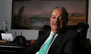 Carlos Slim regularly competes with Bill Gates and Warren Buffett for the title of world's richest man.