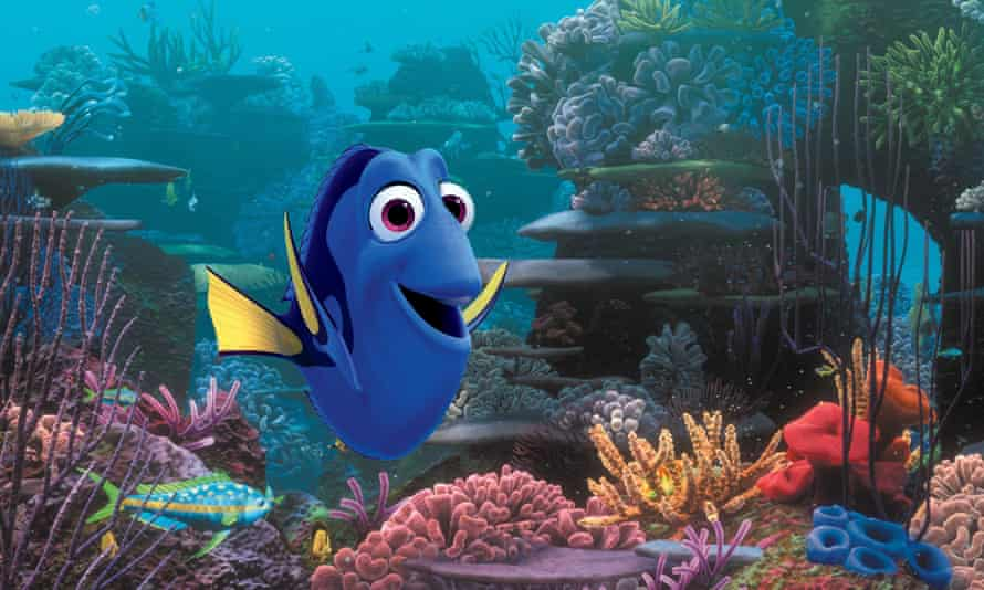 Potential threat to fish populations ... Dory the blue tang in Finding Dory.