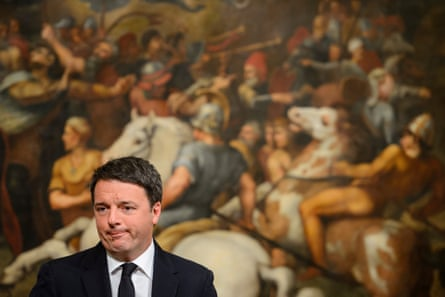 Matteo Renzi's lost a referendum on electoral reform and resigned, and political and financial scandals involving his advisers took the shine off the 'demolition man'.