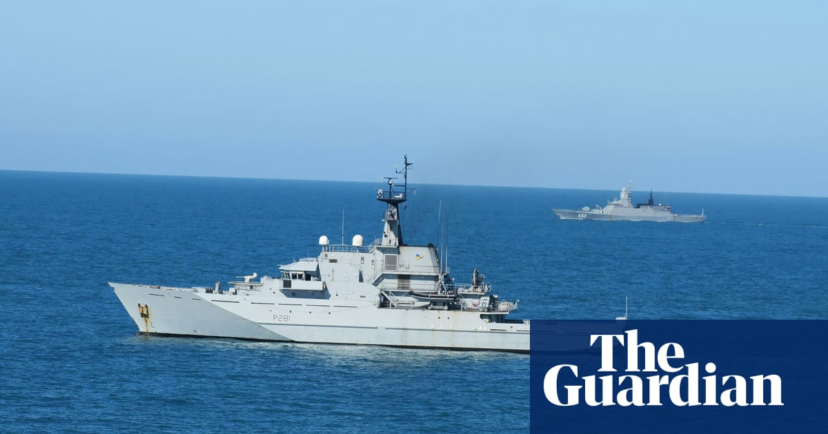 Royal Navy shadows Russian ships after 'high activity' in Channel
