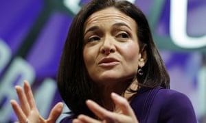 Sheryl Sandberg credits Mark Zuckerberg with saving her life