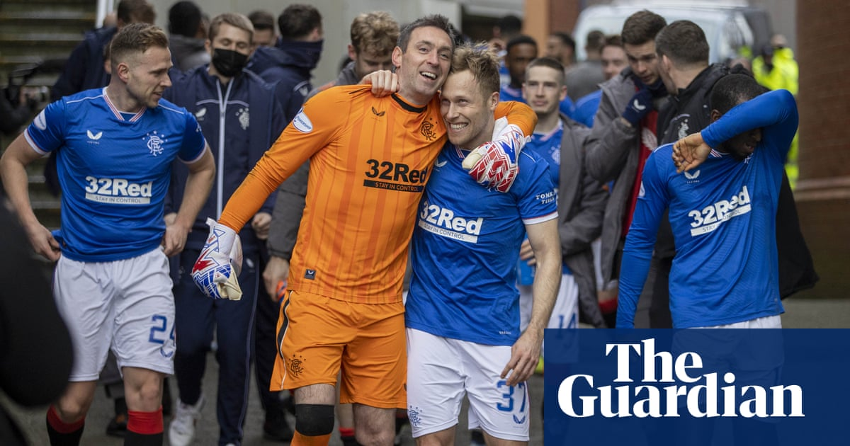 Rangers crowned Scottish champions to end Celtic's nine-year reign