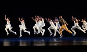 'Liquid articulation': Exodus by Alvin Ailey American Dance Theater.