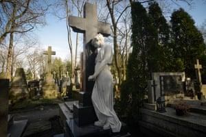 Powazki cemetery in Warsaw
