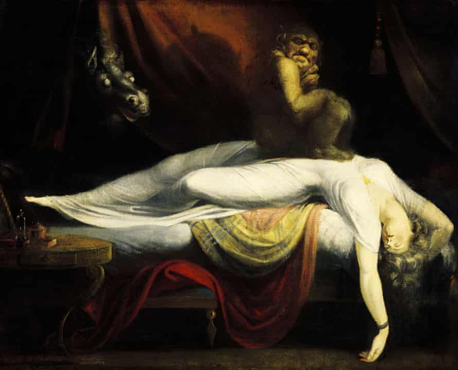 A Freud favourite … The Nightmare by John Henry Fuseli, circa 1754.
