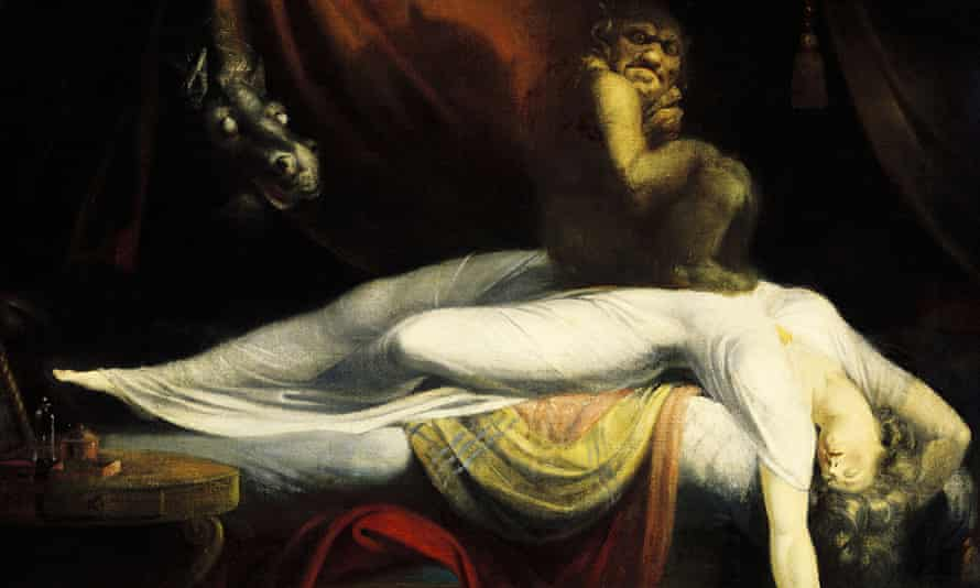 John Henry Fuseli's The Nightmare, first exhibited 1782.