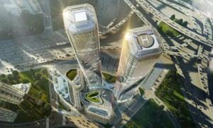 Zhejiang Gate Towers design