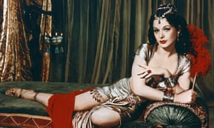 Hedy Lamarr as Delilah in the Cecil B DeMille's 1949 biblical blockbuster.