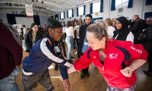 A Life Not Knife event at Newham sixth form college in London