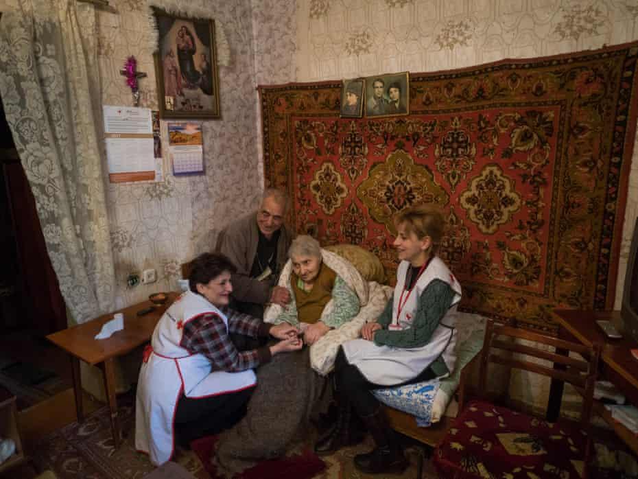 Bavakan Avestiyan, 80, and Razmik Avetisyan, 83