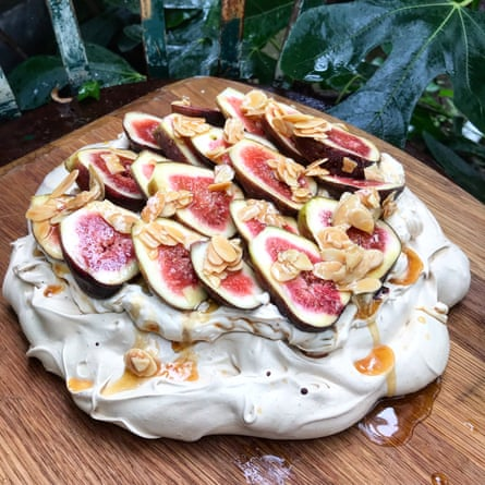 Yotam Ottololenghi and Helen Goh use a mixture of mascarpone and cream.