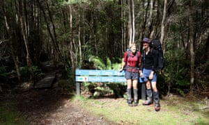 Walking out at Cockle Creek, muddy but happy