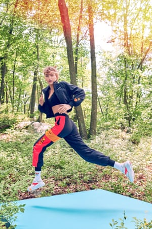 Shape up with GigiAfter the success of her capsule collection, Gigi Hadid has unveiled a full clothing line with Reebok. With classic patterns on new layering pieces, and Hadid's fan base, this is a partnership that will race out of stores. T-shirt, £29.95, reebok.co.uk