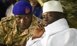Banjul,The Gambia. May 25th, 2016. GAMBIA, Kanilai: President of Gambia Yahya Jammeh, 51, celebrates his birthday in his native village of Kanilai, on May 25, 2016, during a campaign visit ahead of next presidential election scheduled in December 2016.  (<br>G2WGT2 Banjul,The Gambia. May 25th, 2016. GAMBIA, Kanilai: President of Gambia Yahya Jammeh, 51, celebrates his birthday in his native village of Kanilai, on May 25, 2016, during a campaign visit ahead of next presidential election scheduled in December 2016.  (C)BANGALY TOURE/NEWZULU/Alamy Live News