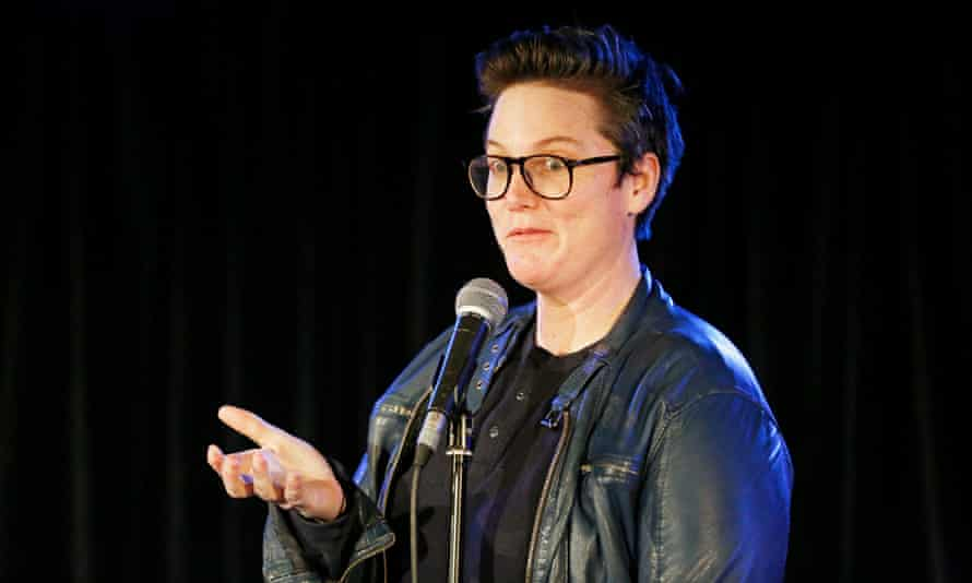 Hannah Gadsby: 'There's only so long I can pretend not to be serious.'