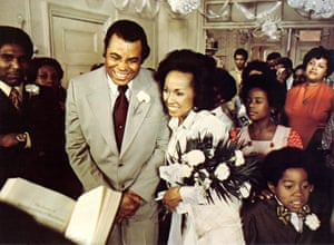 A still from Claudine, for which Carroll received an Oscar nomination.