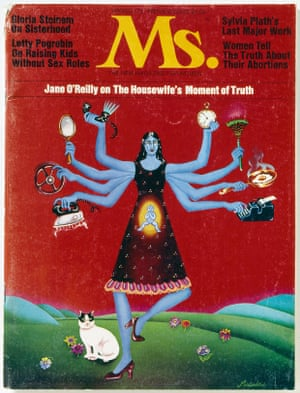 Cover of the first issue of  Ms. magazine, spring 1972