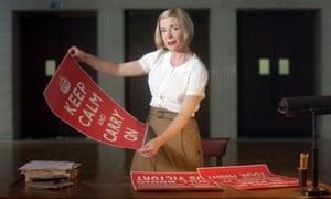 Keep calm and watch Lucy Worsley.