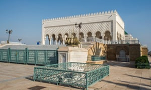 Mausoleum of Mohammed V (Mohamed Ben Yusef) and Hassan II.