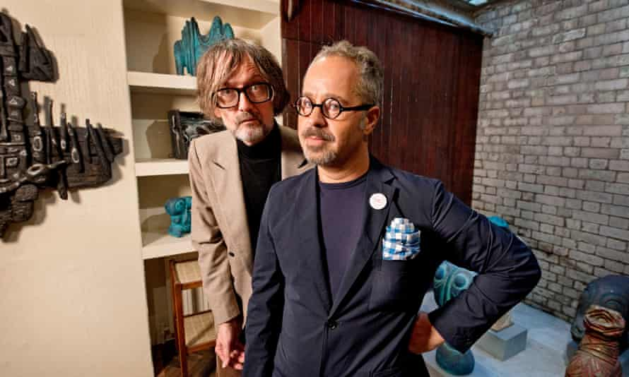 'It's not a freak show'… Gallery of Everything founder James Brett (right) with Jarvis Cocker.