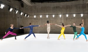 A performance of Boris Charmatz's Flip Book when the Tanks were opened in 2012