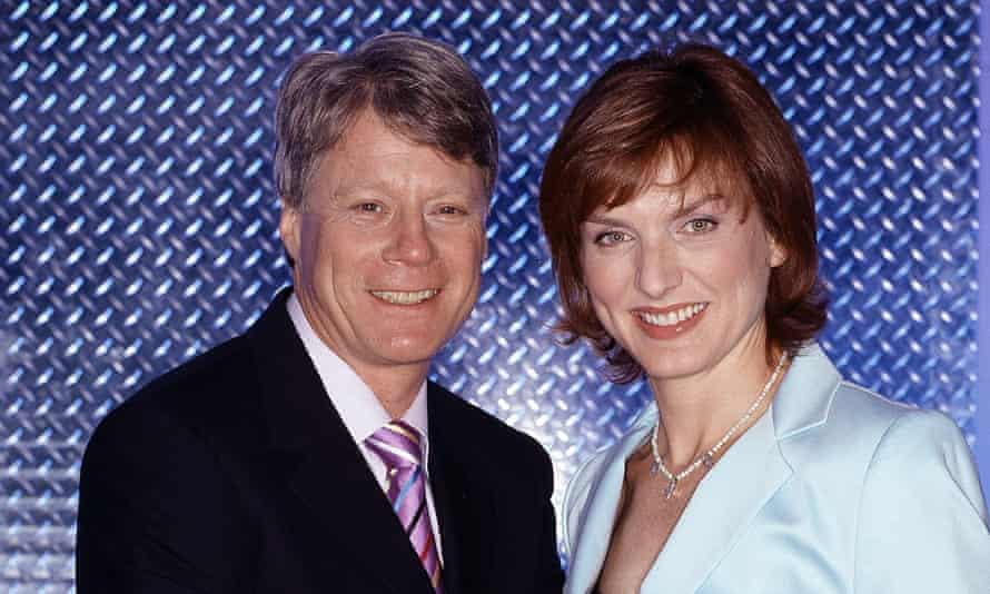 Crimewatch's Nick Ross and Fiona Bruce