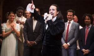 Lin-Manuel Miranda, pictured at Hamilton's opening night, is said to be making $105,000 a week in royalties.