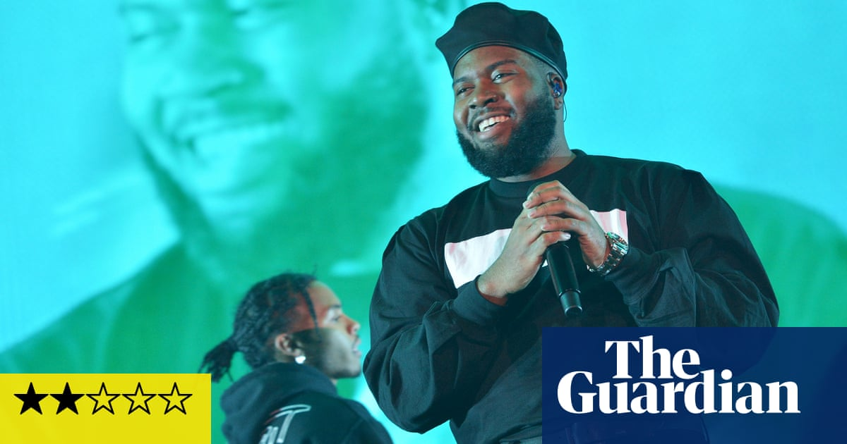 Khalid review – shallow spectacle from pops king of background music
